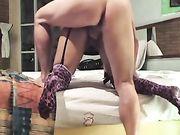 Sesso anale con la moglie dal Messico
