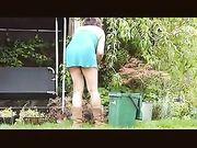 Telecamera Voyeur spia sulla donna vicina